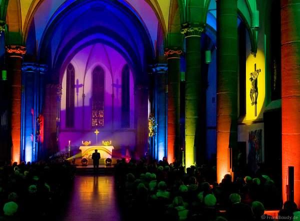 Die Schöpfung im Licht - Luminale 2008 - Rheinhessendom Mainz
