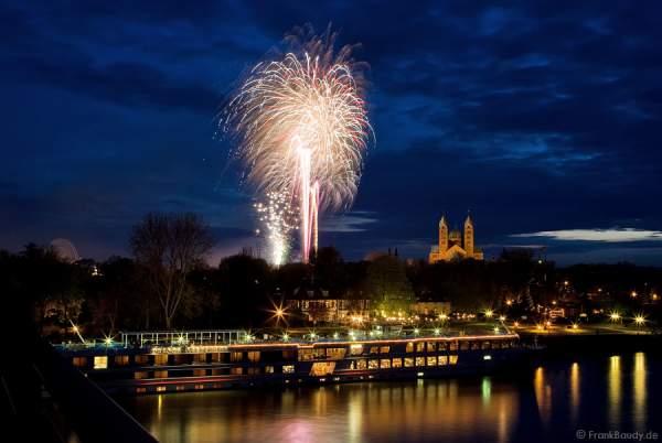 Feuerwerk Frühjahrsmesse 2008 Speyer