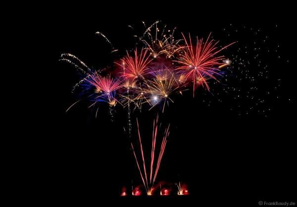 Klasse-II Feuerwerk-Wettbewerb beim Drachenfest Rodgau 2008