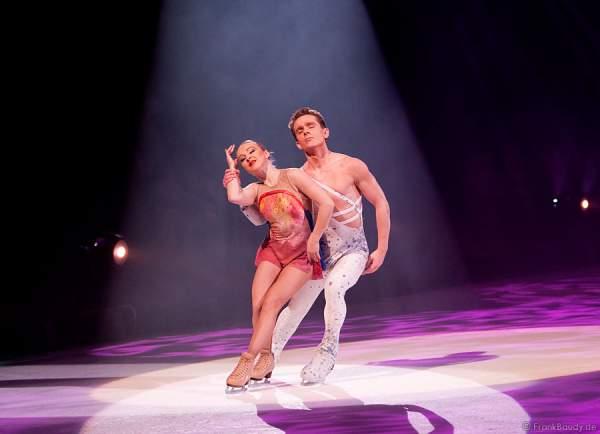 Michal Zych & Nina Ulanova bei Holiday on Ice - Energia