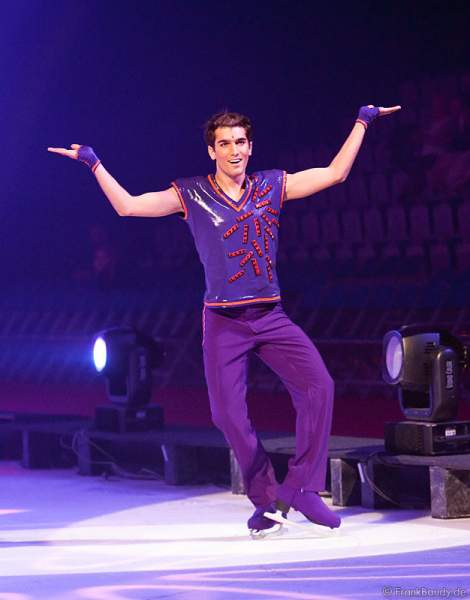 Mauro Bruni bei Holiday on Ice - Energia
