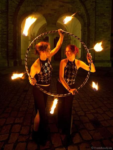 Feuershow bei Feuerzauber 2009 - Paderborn