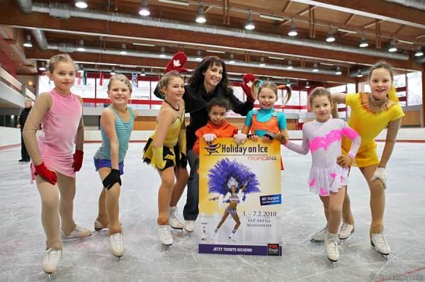 Holiday on Ice präsentiert den diesjährigen Stargast Anna Maria Kaufmann