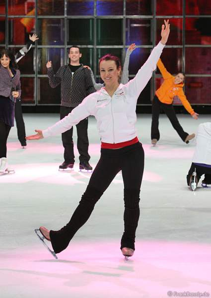 Holiday on Ice - Proben zur Show Tropicana