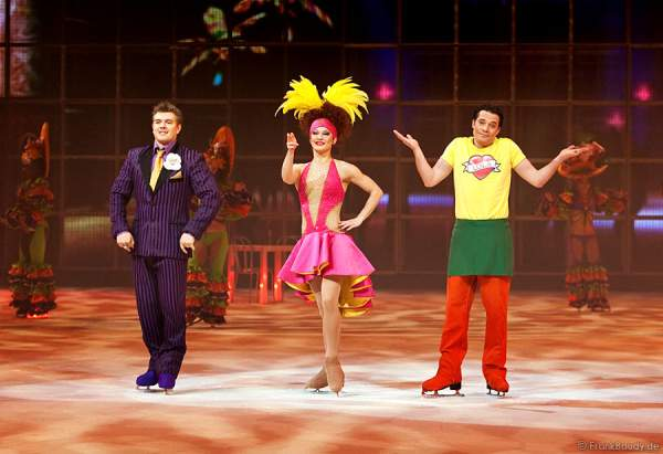 Daria Perminova & Evgeny Belyanin bei Holiday on Ice - Tropicana