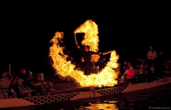 Liquid Dragonfire - Luminale 2010 Feuershow Frankurt