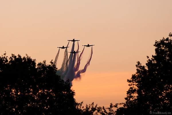 Flugshow des Pioneer-Teams beim Hessentag 2010