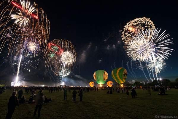Feuerwerk beim Hessentag 2010
