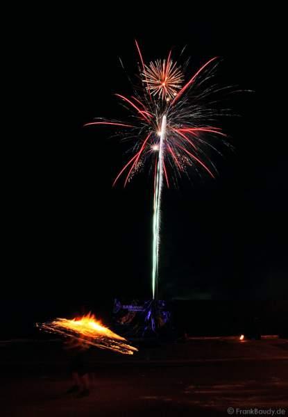 Feuershow Fire & More bei der Irischen Nacht in Höchstadt a. d. Aisch
