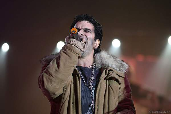 Marc Terenzi in der Horrorshow Terenzi Horror Nights