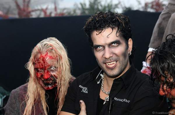 Marc Terenzi bei Terenzi Horror Nights