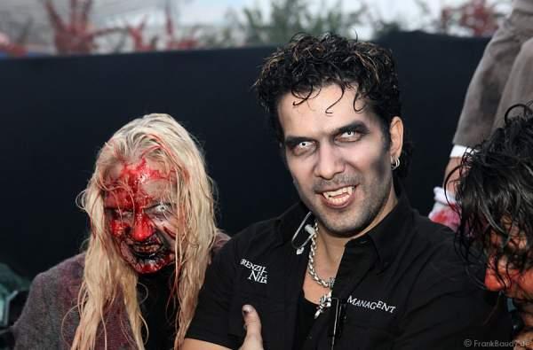 Marc Terenzi bei Terenzi Horror Nights