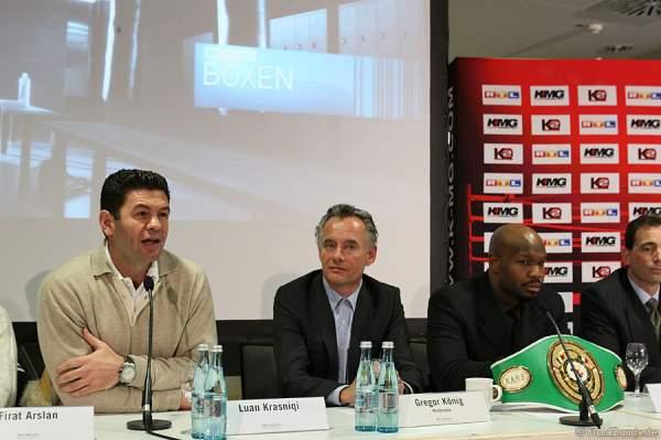 Luan Krasniqi, Gregör König, Johnathon Banks