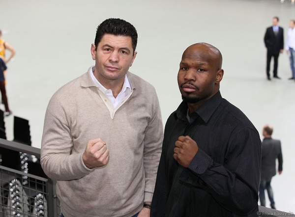 Luan Krasniqi und Johnathon Banks