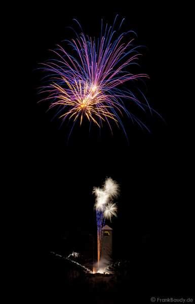 Qualifikations-Feuerwerk zur Arte-WM 2011