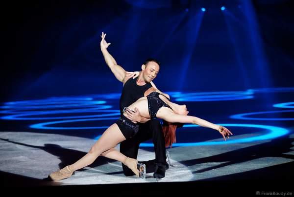 Fatima Moreno und Martin Rumler bei Holiday on Ice – FESTIVAL