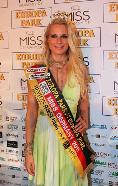 Anne-Kathrin Kosch - Miss Germany 2011