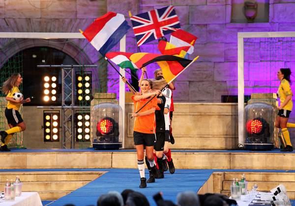 Wahl zur Miss WM 2011 im Europa Park Rust
