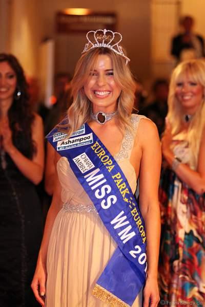 Dominique Ela Wisniewski siegte und wurde Miss WM 2011 im Europa Park Rust