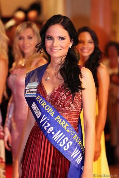 Christina Trost wurde Vize-Miss WM 2011 für Germany im Europa Park Rust