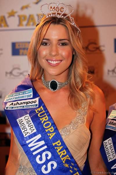 Dominique Ela Wisniewski gewann die Wahl der Miss WM 2011 im Europa Park Rust