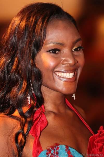 Jane Ogbe belegte den dritten Platz für Nigeria bei der Wahl zur Miss WM 2011 im Europa Park Rust