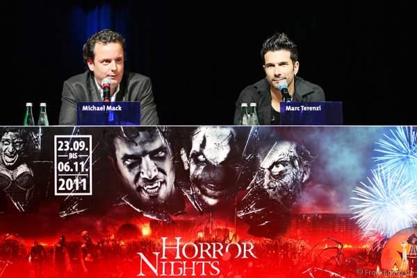 Halloween-Pressekonferenz mit Michael Mack und Marc Terenzi