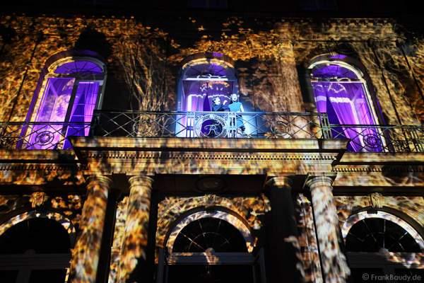 Brennendes Schloss Manderlay von Rebecca