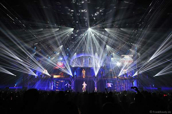 Lightshow bei Dancing Las Vegas von DJ Bobo – Weltpremiere