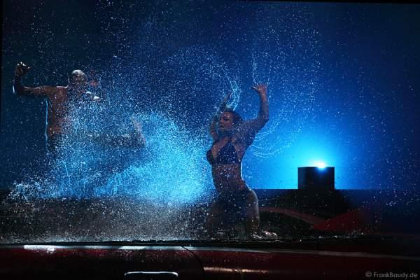 Wassertanz und Wassershow bei Dancing Las Vegas von DJ Bobo – Weltpremiere