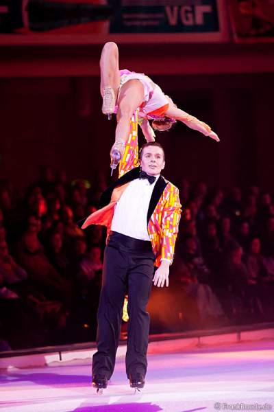 Michal Zych und Victorine Luron bei Holiday on Ice – SPEED