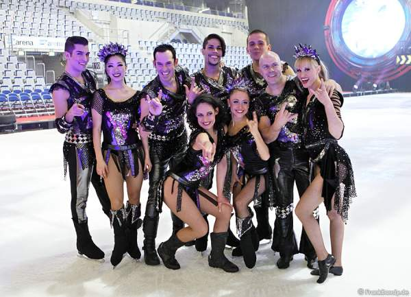 Holiday on Ice – SPEED - Backstage