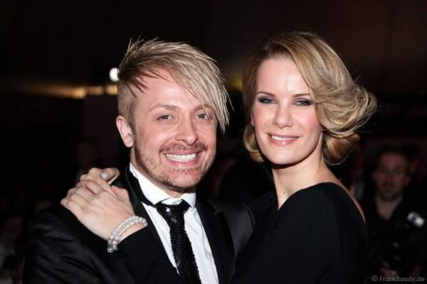 Monica Ivancan und Ross Antony