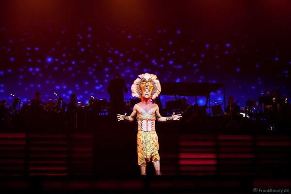 Mathieu Boldron in DER KÖNIG DER LÖWEN bei Best of Musical Gala