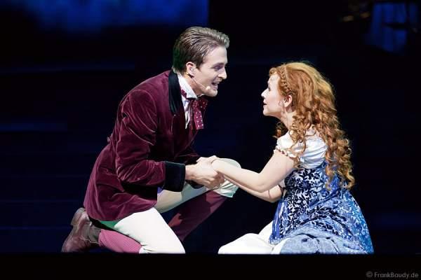 Alexander Klaws und Elisabeth Hübert bei Best of Musical Gala