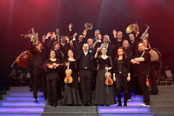 Das Orchester bei Best of Musical Gala