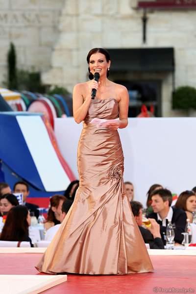 Alexandra Philipps, Miss Germany 1999 bei der Miss EM 2012 Wahl im Europa-Park