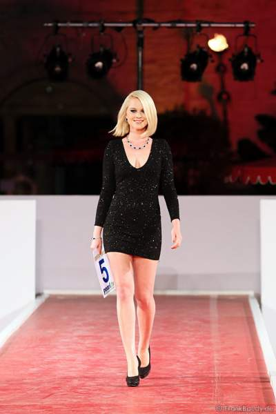 Mareen Wehner bei der Miss EM 2012 Wahl im Europa-Park