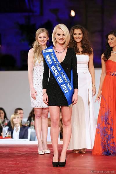 3. Miss EM 2012 wurde Mareen Wehner im Europa-Park