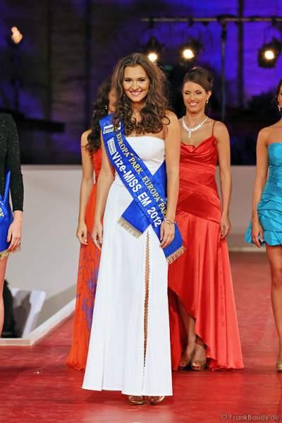 Vize-Miss EM 2012 wurde Lucie Klukavá