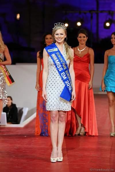 Natalia Prokopenko ist Miss EM 2012