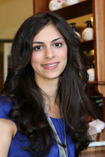 Rashmi Sharma Backstage bei der Miss EM 2012 Wahl im Europa-Park