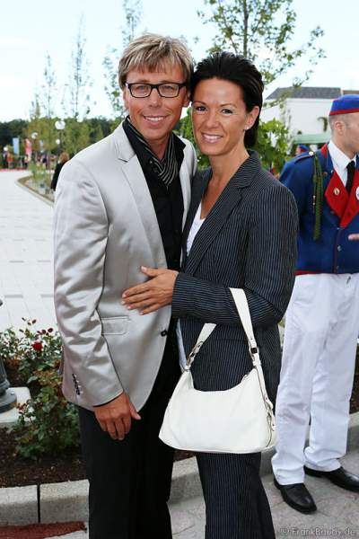 Hansy Vogt mit Ehefrau Petra aus Neuglashütten