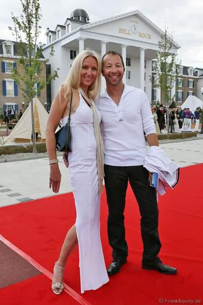 DJ BoBo mit seiner Frau Nancy