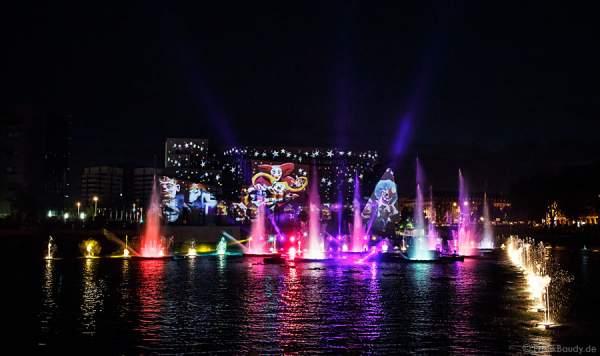 Licht- und Wasserspiele - ETE 2012 - Strasbourg