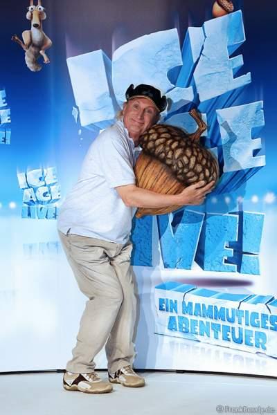 Otto Waalkes bei Pressekonferenz ICE AGE LIVE!