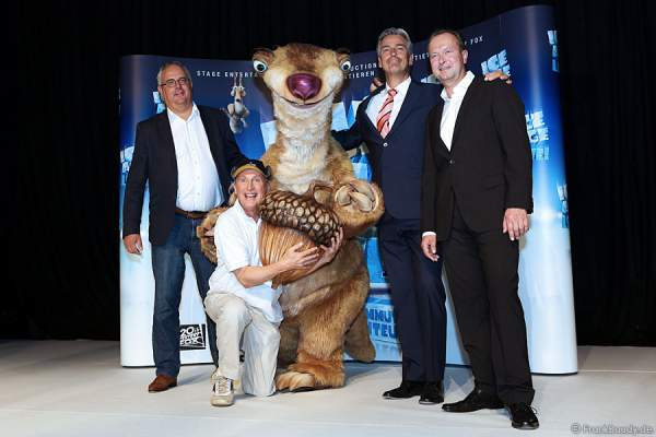 Pressekonferenz zur neuen Show ICE AGE LIVE!