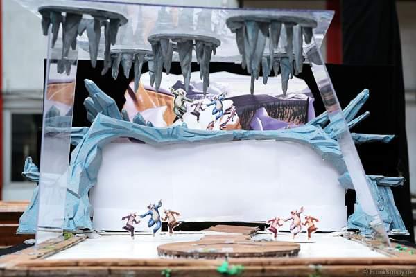 Das Modell der Bühne