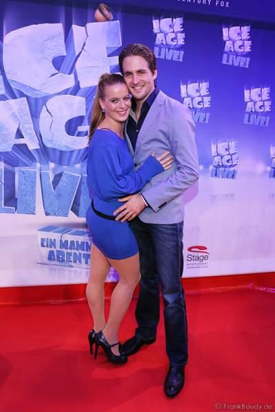 Alexander Klaws und Nadja Scheiwiller