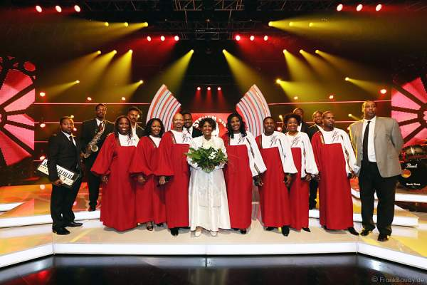 Harlem Gospel Singers mit Queen Esther Marrow